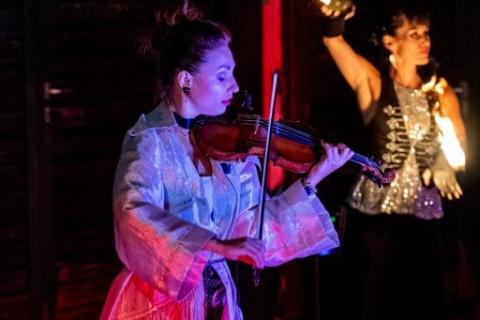 Harmonische-Show-Violin-Feuer-Licht-12