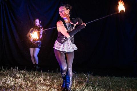 Harmonische-Show-Violin-Feuer-Licht-6