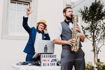 DJ und Saxophon Duo aus München