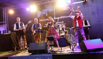 Die Münchner Oktoberfest-Band